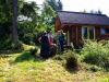Gathering at Ratna Cabin